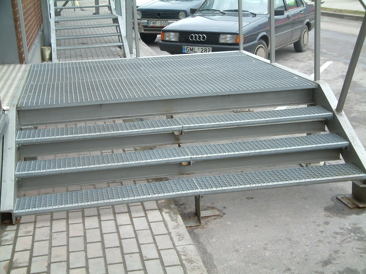 Pressed Stair Treads Steel Products Gratings And Stair